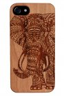 iPhone 6/6S/7/8 - Real Cherrywood Elephant Case