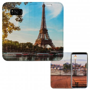 Samsung S8 Plus - Paris La Seine Panorama Case