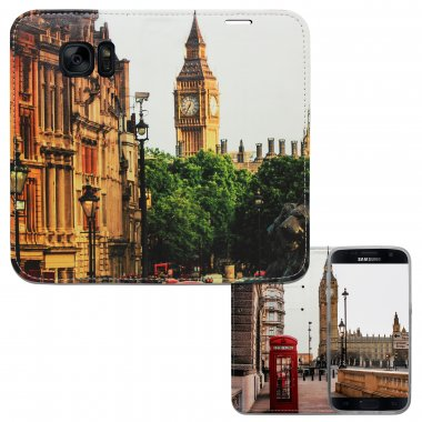Samsung S7 - London Picadilly Panorama Case
