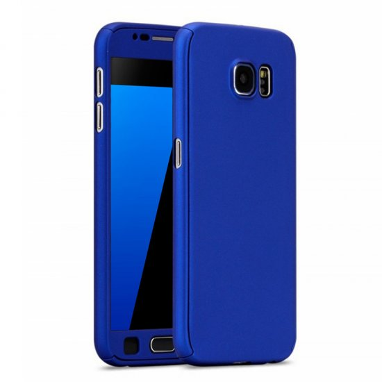 official photos f2fee 3cb71 360 Degré Case Blue - Samsung Galaxy S7 Edge