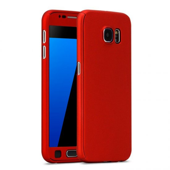 new concept 71ba7 cd039 360 Degré Case Red - Samsung Galaxy S7 Edge