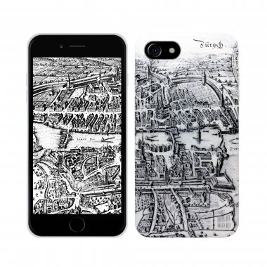 Soft360° Case Basel Merian Map - iPhone 7/8