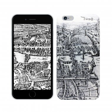 Soft360° Case Zurich Merian Map - iPhone 6/6S